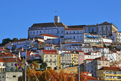 Coimbra city center Stock Images