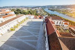 Coimbra city in Portugal royalty free stock photos