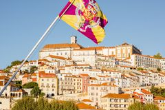 Coimbra city in Portugal Royalty Free Stock Photography