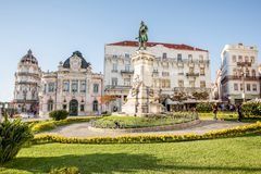 Coimbra city in Portugal Stock Photography