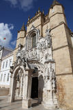 coimbra cruzkloster portugal santa Royaltyfri Foto