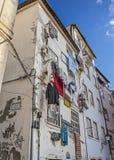 Coimbra . Dorm students off the  university Stock Photography