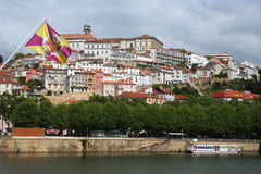 Coimbra - Flag Royalty Free Stock Image