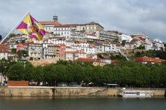 Coimbra - Markierungsfahne Lizenzfreies Stockbild