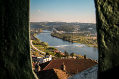 Coimbra miasto Zdjęcia Royalty Free