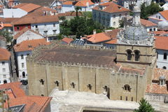 Coimbra old cathedral Royalty Free Stock Image