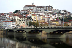 Coimbra, Portugal. The city an important touristic destination Stock Image