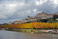 Coimbra, Portugal. Autumn colors in Coimbra, Portugal Royalty Free Stock Photo