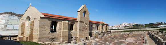 Coimbra, Portugal, Iberian Peninsula, Europe, monastery, church, ruins stock photography