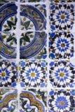 Coimbra Portugal, Juni 11, 2018: Traditionellt gammalt dekorerat c Royaltyfria Foton