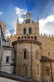 coimbra portugal Kloster av det heliga korset Royaltyfri Bild