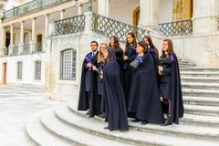 University of Coimbra, established in 1290 Stock Photos