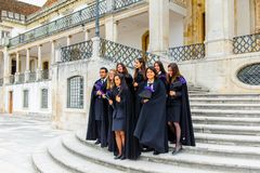 University of Coimbra, established in 1290 Royalty Free Stock Photos