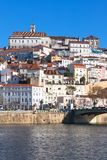 Coimbra, Portugal, Old City View. Sunny Blue Sky Royalty Free Stock Image