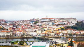 Coimbra, Portugal : vue générale Images libres de droits