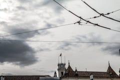 Coimbra stad Fotografering för Bildbyråer