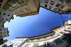 Coimbra-Straße Lizenzfreies Stockbild