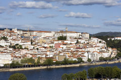 Coimbra from top Stock Images