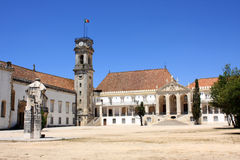 Coimbra tower royalty free stock photography