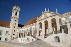 Coimbra univerisity Royalty Free Stock Image