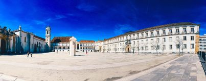 Coimbra universitet Royaltyfri Bild