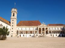 Coimbra University. Old building. Portugal Stock Photo