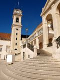 Coimbra University. Old building. Portugal Royalty Free Stock Photography