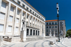 Coimbra University is an ancient University in Portugal Royalty Free Stock Photo