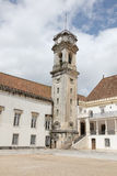 Coimbra University Clocktower Royalty Free Stock Image