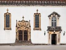 Coimbra University decor Stock Photos