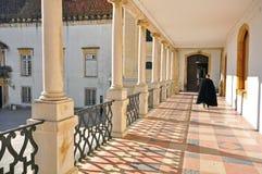 Coimbra university, Portugal Royalty Free Stock Photography
