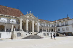Coimbra University Royalty Free Stock Photos