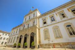 Coimbra urząd miasta Zdjęcia Stock