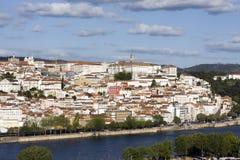 Coimbra vanaf bovenkant Stock Afbeeldingen
