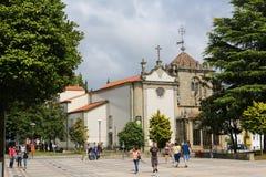 Coimbras kaplica w Braga, Portugalia obraz royalty free