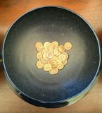 Coin in Royalty Free Stock Photography