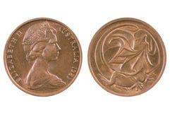 Coin of Australia. Royalty Free Stock Photos