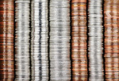 Coin background Stock Photos