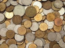 Coin backgrounds Royalty Free Stock Images