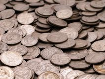 Coin backgrounds. Currency coin backgrounds - finance wealth savings Stock Image