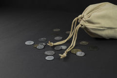 Coin  bag Royalty Free Stock Images