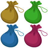 Coin bags Royalty Free Stock Photo