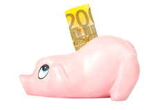 Coin bank Royalty Free Stock Photos
