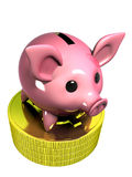 Coin box Stock Image