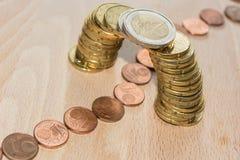 Coin bridge Stock Photos