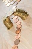 Coin bridge Stock Photography