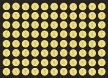 Coin cartoon background vector. EPS10 Stock Photos