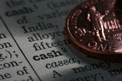 Coin cash Stock Images