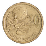Coin 20 centavos Royalty Free Stock Photos