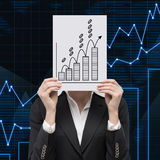 Coin chart Royalty Free Stock Photography